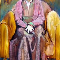 Sonja in stoel l ( gemengd) 35 x 55 cm